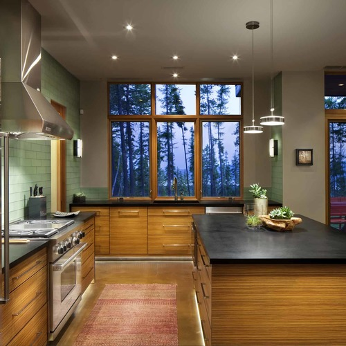 A Distinctive Countertops Kitchen Project Made in Montana