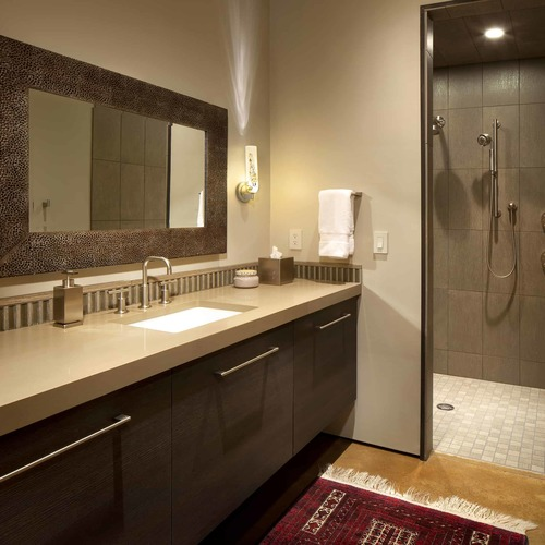 A Distinctive Countertops Bath Project Made in Montana